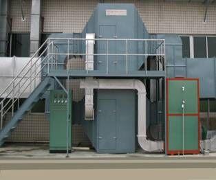 有机废气活性炭吸附催化燃烧再生装置